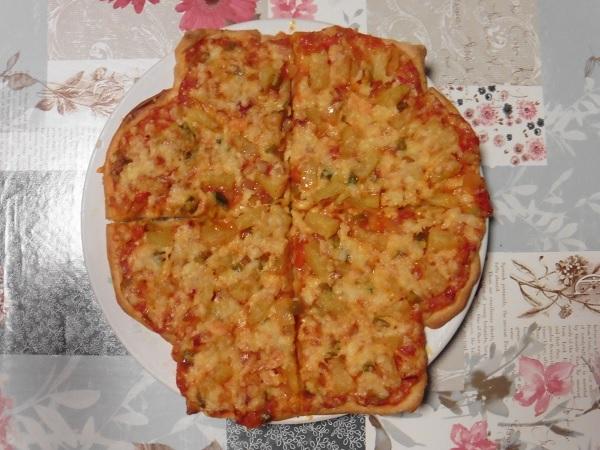 Snel pizza maken 4 harten