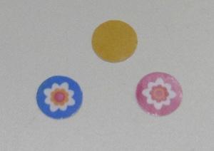 Stickers maken de beschermlaag aan de achterkant