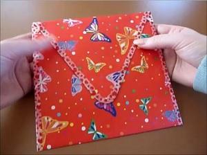 Envelop maken de flap