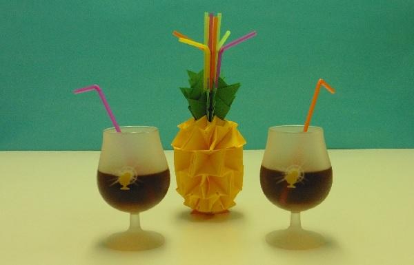 Origami zo Ananas