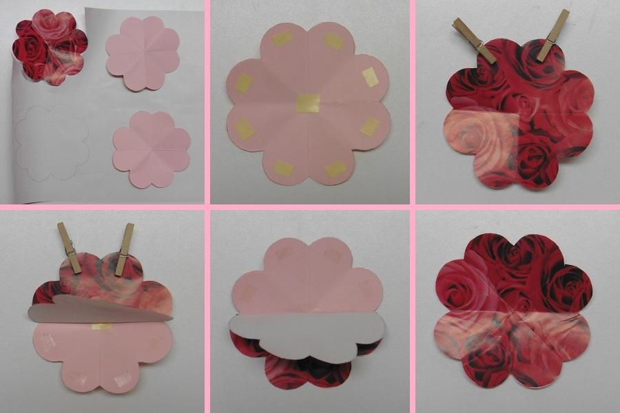 pop-up-kaart-bloemenboeket-cadeaupapier-op-de-bloem-plakken