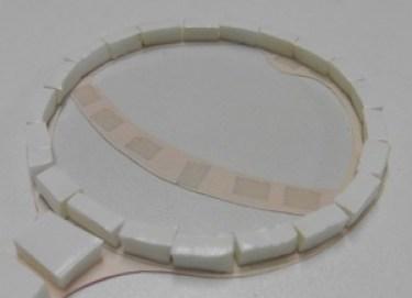 Schutkaart baby rammelaar 3D dubbelzijdig tape rond dicht