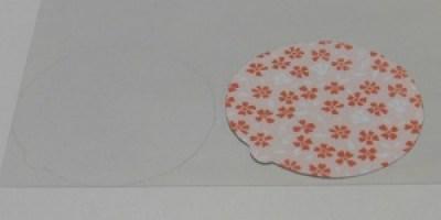Schutkaart baby rammelaar plastic rond