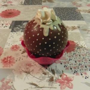 chocolade kerstbal
