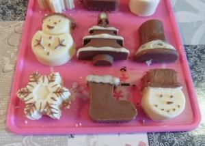 kerstchocolaatjes