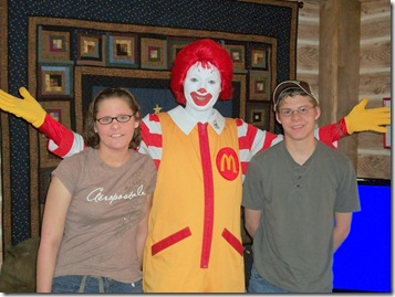 At the Clown's House