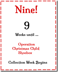 Operation Christmas Child Countdown Tips