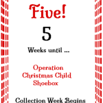5 Weeks 'Til Shoebox Time! @SuzBroadhurst