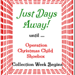 Just Days Away 'Til Shoebox Time! @SuzBroadhurst