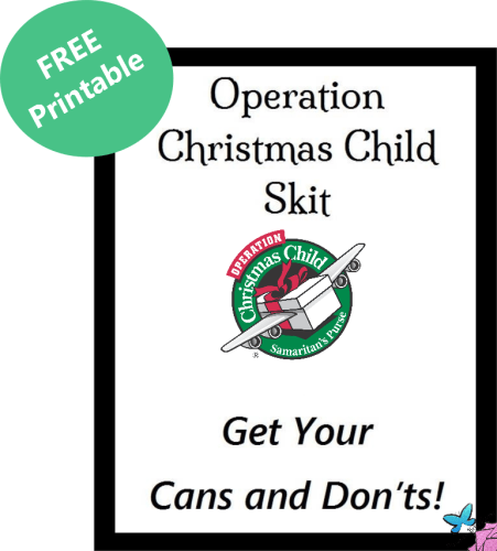 FREE SKIT Cans and Don'ts