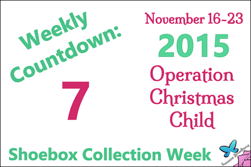 The Message – Operation Christmas Child Weekly Countdown: 7!