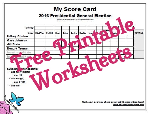 my-score-card_2016-presidential-general-election_free-printable-worksheets
