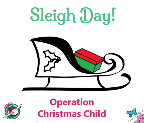 Operation Christmas Child Clip Art.Operation Christmas Child Sleigh Day Suzanne Broadhurst At