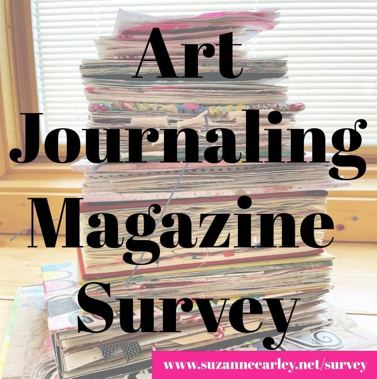 Art journaling magazine survey