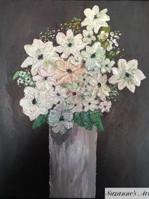 Painting by Suzanne Foxwell