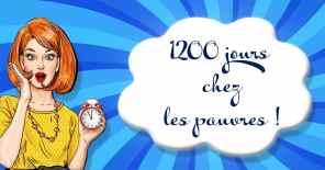 1200 jours chez les pauvres !