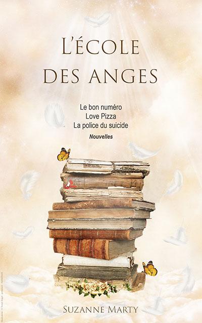 Couverture du livre L'école des anges, de Suzanne Marty