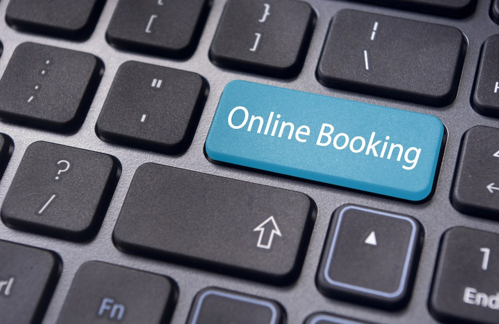New Online Booking System…