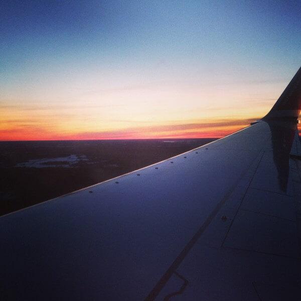 Norwegian flight