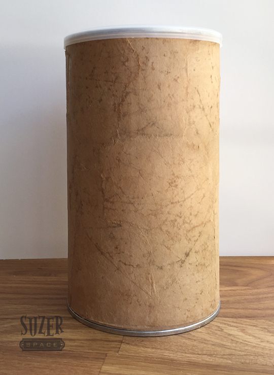 Paper Bag Leather Finish Coffee Can | SuzerSpace