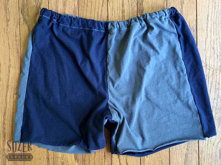 Easy Upcycle Sewing: Boxer PJ Shorts
