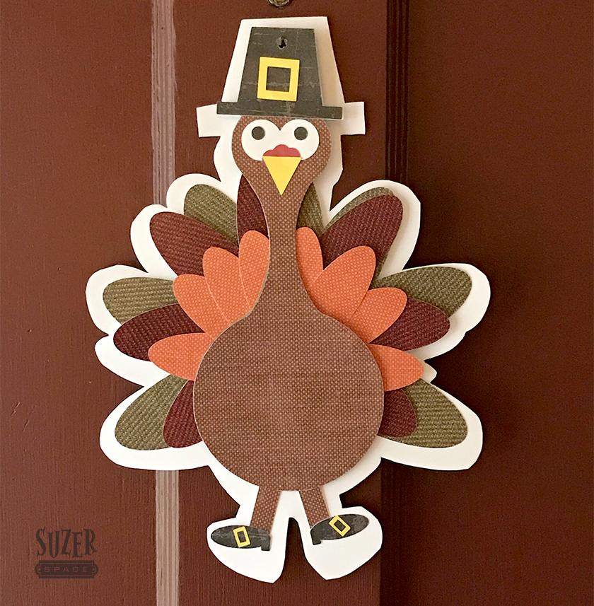 Turkey Door Decoration