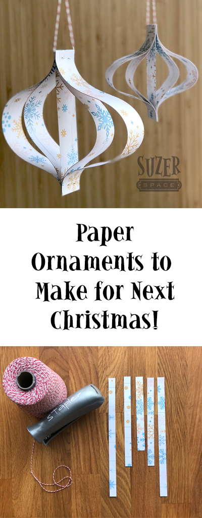 Start crafting now to have a Christmas tree full of handmade ornaments in December | suzerspace