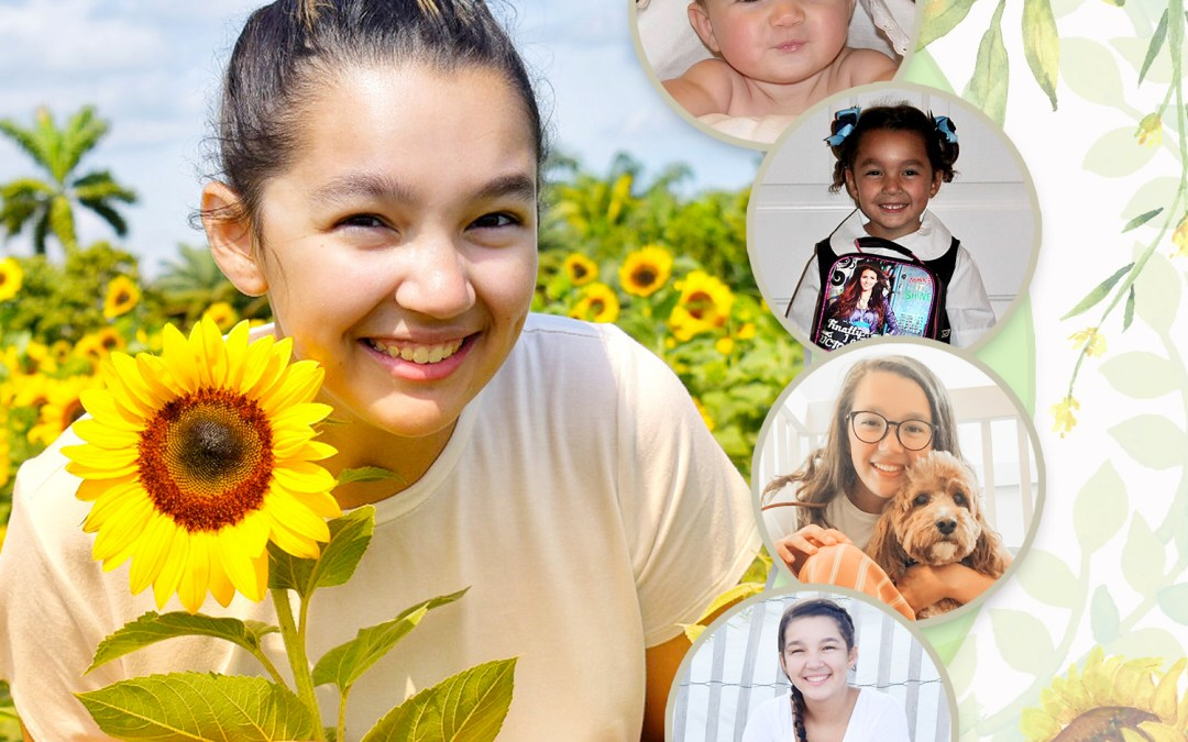 Yearbook Ad Templates – A Client's Vision – Poppies or Sunflowers