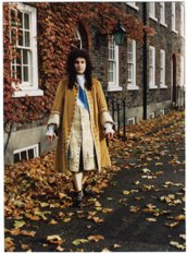 Man's velvet suit 1688