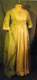 1790 robe and chemise dress