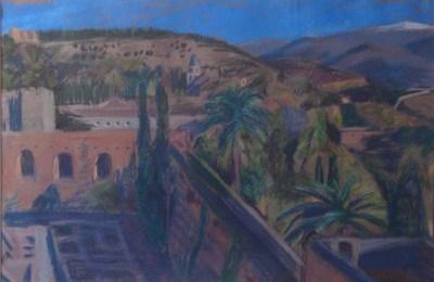 View from the Alcazaba, Granada