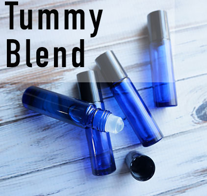 This tummy blend is a blend of essential oils used to help promote feelings of relief for digestive issues & is easy to carry in your bag for use on the go.