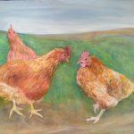 Painting by Cornish artist, Suzi Stephens