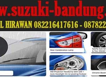 eksterior suzuki new sx4 s-cross bandung, dealer mobil suzuki bandung