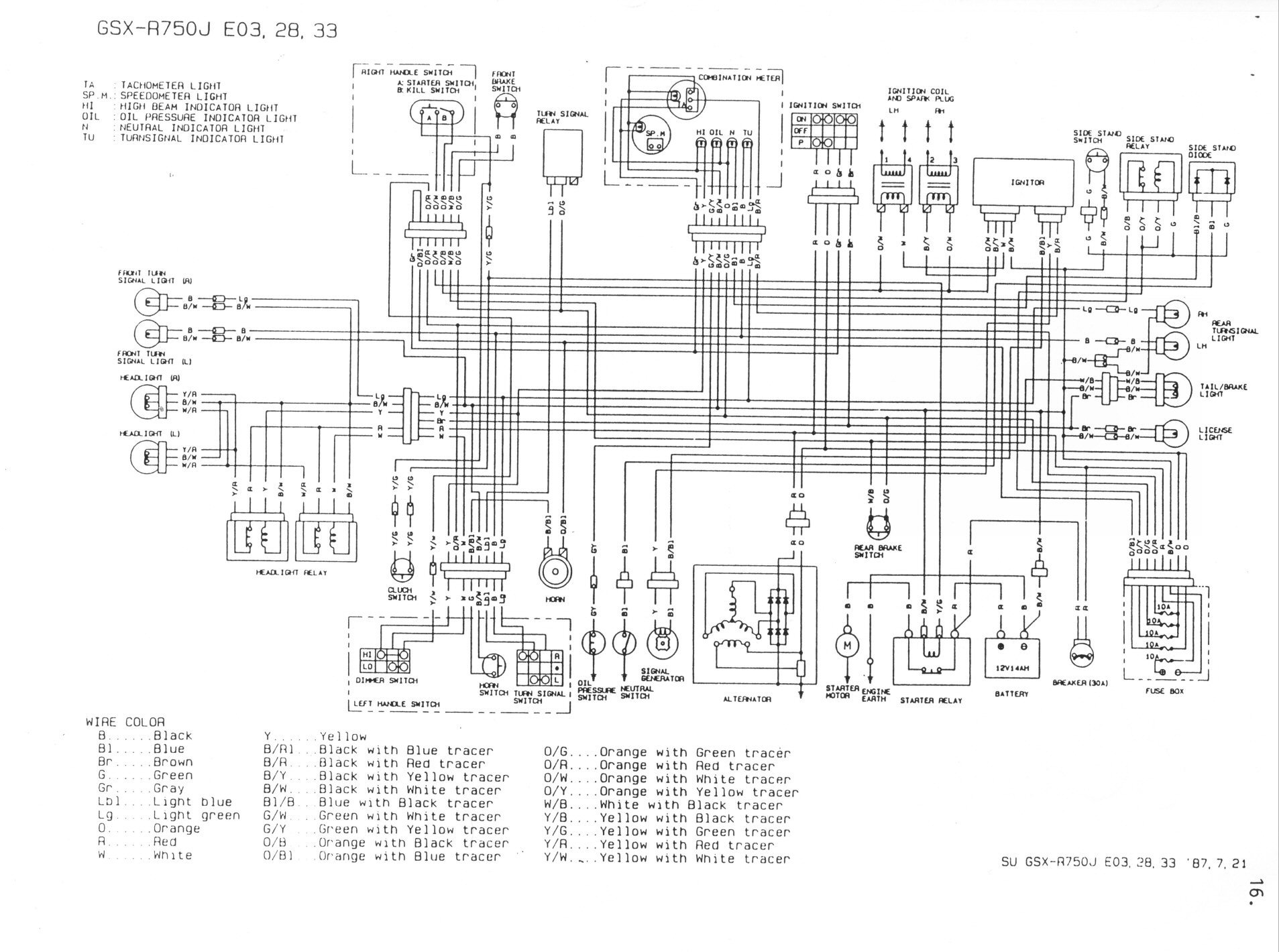 Gsxr 600 Wiring Diagram