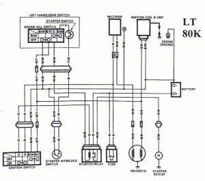 LTR 450 Killswitch wiring help  Suzuki Z400 Forum : Z400