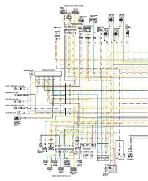 Suzuki GSXR 1000 Service Manual: Wiring diagram