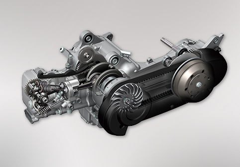 SOHC 水冷引擎
