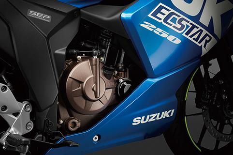 SOHC單缸四行程油冷引擎