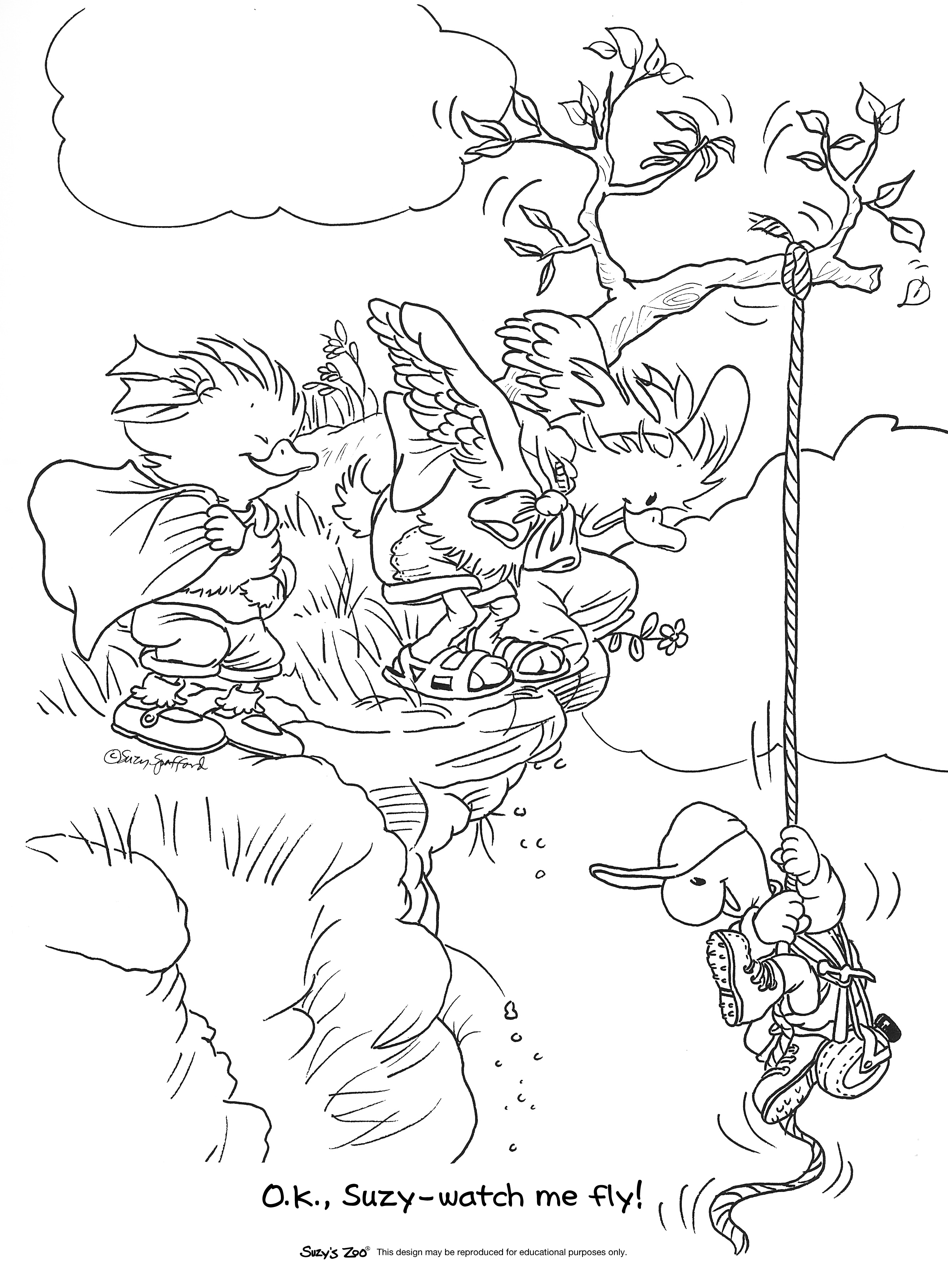 suzy zoo coloring pages suzys zoo colouring pages