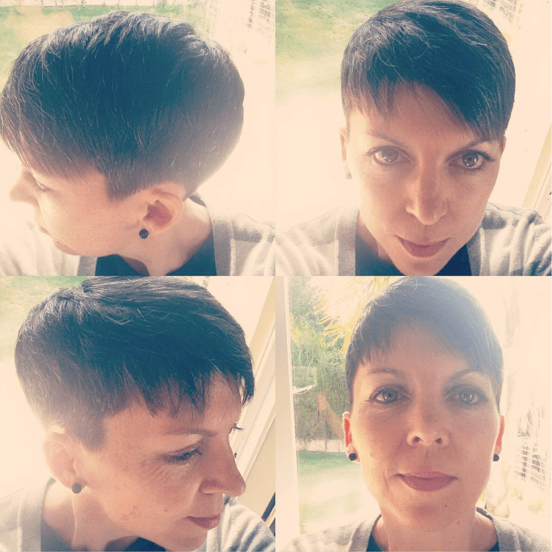 My new pixie haircut