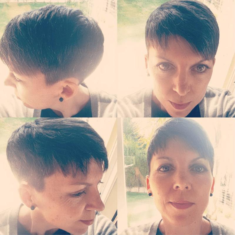 My new pixie haircut