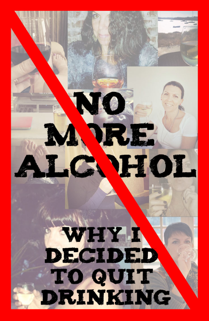 Life decisions: Why I've decided to quit alcohol
