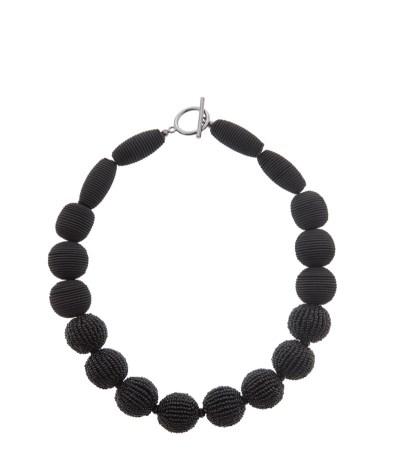 Black necklace House of Fraser
