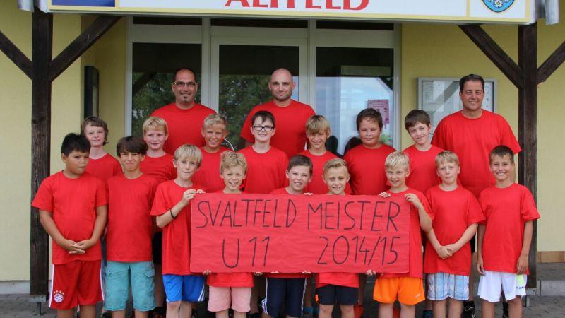 U11 Meisterschaft 2014/2015