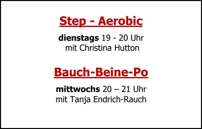 Fitness beim SV Altfeld