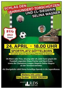 Torwandschießen 24. April - Fußballverein im Saarland