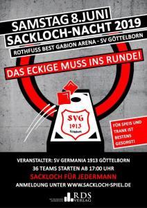 Sackloch-Nacht 2019 - Fußballverein im Saarland