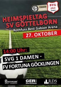 Heimspieltag 27. Oktober - Fußballverein im Saarland