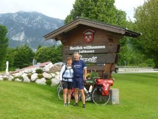 Joke en Heine op weg naar Inzell